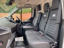 FORD TRANSIT CUSTOM 270 RS SPORT WITH LEATHER SEATS  - 1907 - 17
