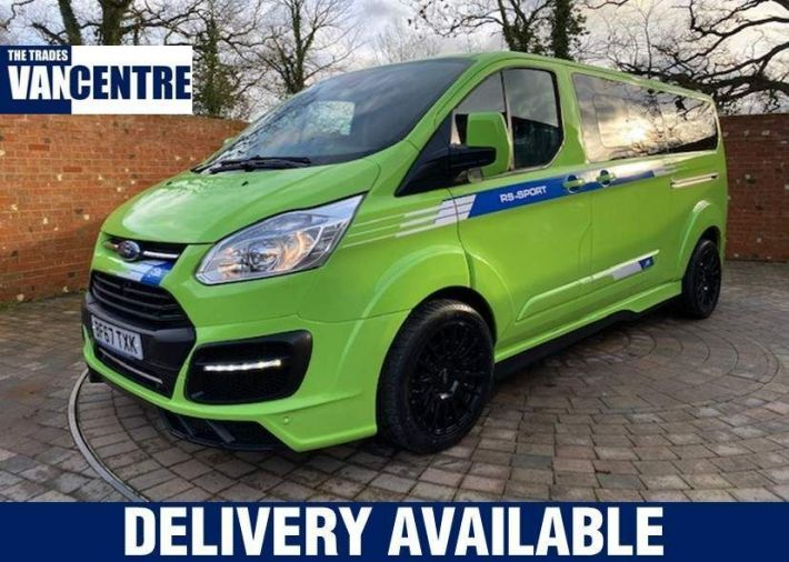 Used FORD TOURNEO CUSTOM in Romsey for sale
