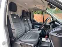 FORD TRANSIT CUSTOM 270 RS SPORT WITH LEATHER SEATS  - 1907 - 36
