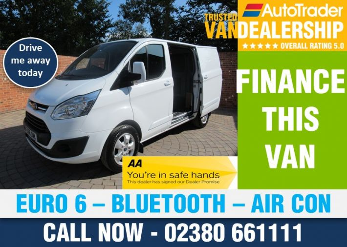 Used FORD TRANSIT CUSTOM in Romsey for sale
