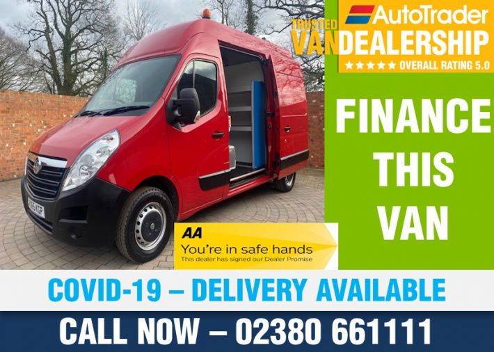 Used VAUXHALL MOVANO in Romsey for sale
